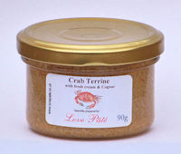 Crab Terrine with Fresh Cream and Cognac [90g]