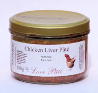 Chicken Liver Pâté - Pork Free [180g]