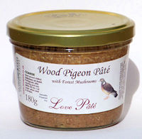 Wood Pigeon Pâté with Forest Mushrooms [180g]