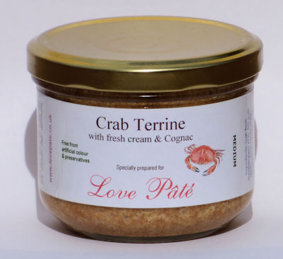 Crab Terrine with Fresh Cream and Cognac [180g]