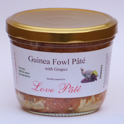 Guinea Fowl Pâté with Grapes [180g]