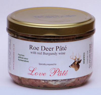 Roe Deer Pâté with Red Burgundy Wine [180g]